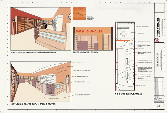 The Smokehouse on garage construction plans, barn construction plans, root cellar construction plans,