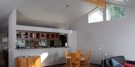 Vaulted Ceiling Home Remodel
