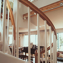 Seattle residential upper floor addition stair