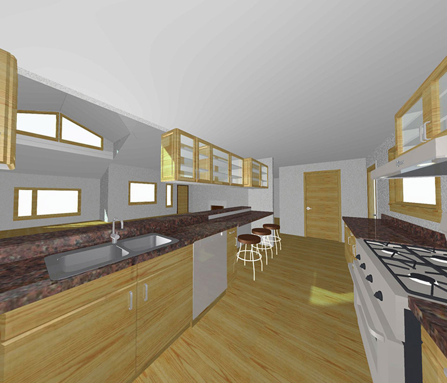 Virtual Building Interior